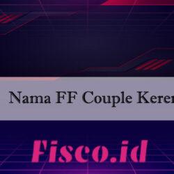Nama FF Couple Keren