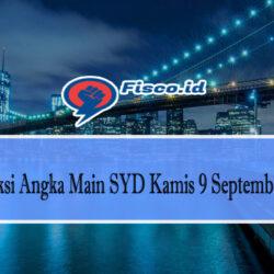 Prediksi Angka Main SYD Kamis 9 September 2021