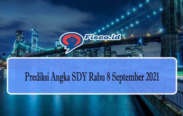 Prediksi Angka SDY Rabu 8 September 2021