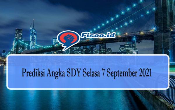 Prediksi Angka SDY Selasa 7 September 2021