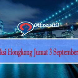 Prediksi Hongkong Jumat 3 September 2021