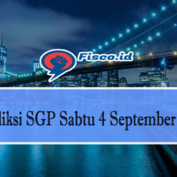 Prediksi SGP Sabtu 4 September 2021